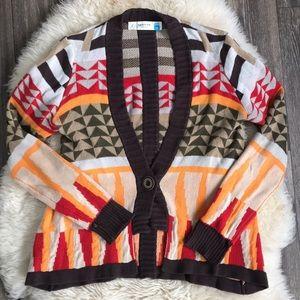 Anthropologie Sparrow Cardigan Knit Sweater Medium